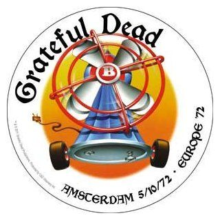 Grateful Dead Rock Music Band Sticker   Europe 1972 Tour   Amsterdam Automotive