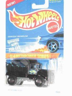 Flamethrower Series #4 Oshkosh Snowplow Black Construction Tires #387 Collectible Collector Car Mattel Hot Wheels 164 Scale Toys & Games