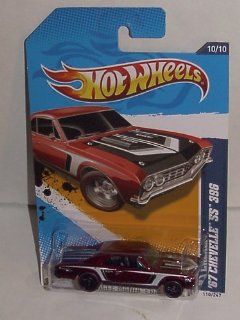 2012 HOT WHEELS '67 CHEVELLE SS 396 SECRET SUPER TREASURE HUNT SUPER RARE