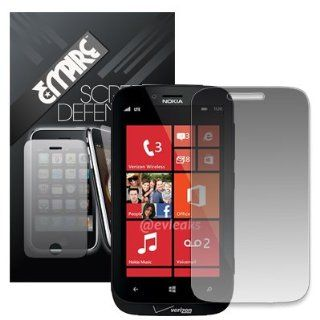 Empire Matte Anti Glare Screen Protectors for Nokia Lumia 822 Cell Phones & Accessories