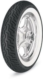 Dunlop D402 Harley Davidson Tire   Front   MT90B16 TL   Wide White Wall , Speed Rating H, Tire Type Street, Tire Construction Bias, Position Front, Tire Size MT90 16, Rim Size 16, Load Rating 72, Tire Application Touring 302291 Automotive