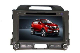 8 Inch 2 Din Car DVD Player for KIA SPORTAGE R (2010 2013),DVD,GPS,RDS,IPOD,BT,Analog TV,Remote Control,Rear Reviewing Function