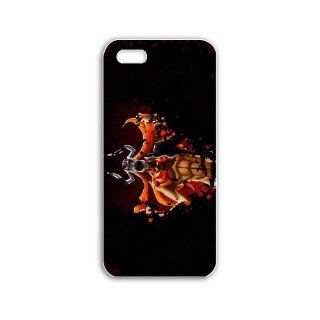 Design Apple Iphone 5/5S Anime Series hollow ichigo anime Black Case of Boyfriend Case Cover For Girls Cell Phones & Accessories