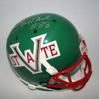 Jerry Rice Autographed Mississippi Valley State Delta Devils Schutt Full Size Replica Helmet