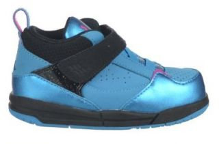 Jordan Flight 45 (TD) Baby Toddlers Shoes Dynamic Blue/Black/Fireberry Pink Shoes