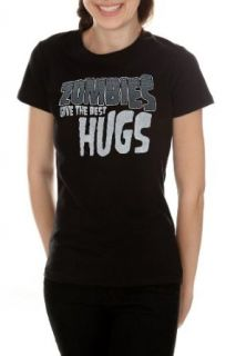 Zombie Hugs Girls T Shirt