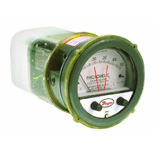 Dwyer Photohelic Series A3000 Pressure Switch/Gauge Industrial Pressure Gauges