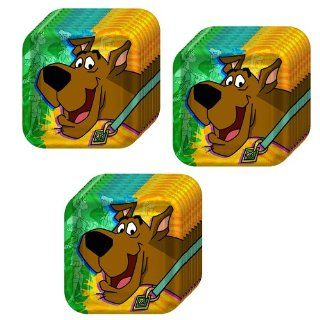 Scooby Doo Mod Mystery Party Cake/Dessert Plates   24 Guests Toys & Games