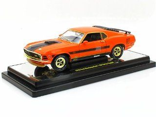 "1970 Ford Mustang Mach 1 428 ""Twister Special"" 1/24 Grabber Orange CHASE CAR Toys & Games"