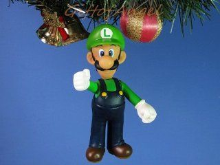 Mario *R32 Decoration Ornament Home Party Christmas Tree Decor Cartoon Model SUPER MARIO BROS LUIGI (Original from TheBestMoment @ ) Toys & Games
