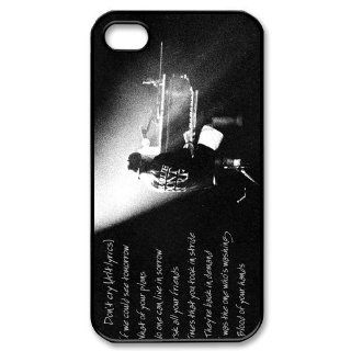 Custom Heavy Metal Music Band Guns Cover Case for iPhone 4 4s LS4 431 Cell Phones & Accessories