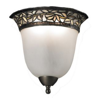 dale tiffany cyprus oaks 2 light wall sconce