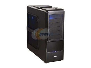LOGISYS Computer CS8009BK Black  ATX Full Tower Extreme Automobile Technology Water Cooling Serve / Gaming Case