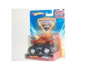 Hot Wheels 46/75 Monster Jam 2010 Flag Series Hot Wheels Originals 1:64 Scale   Pillage Idiot