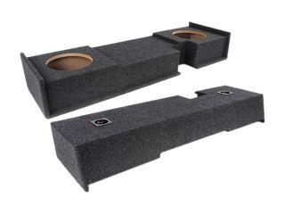 "Atrend A302 10CP Dual 10"" Subwoofer Enclosure For Ford F150 Extended Cab 00 03"