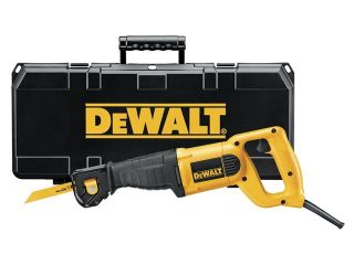 Dewalt DW304PK 10 Amp Heavy Duty Reciprocating Saw Kit