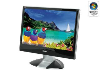 "ViewSonic X Series VX2435WM Piano Black 24"" FULL HD 1080p HDMI (w/HDCP) LCD Monitor"