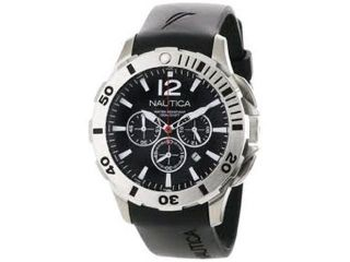 Nautica Chronograph BFD 101 Black Dial Men's watch #N16564G