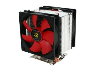 Sunbeam Twister 120 CW TWI 120 SV 120mm x 2 MFDB CPU Cooler with Rheosmart PCI fan controller, free TX 4 Thermal Paste Included Inside