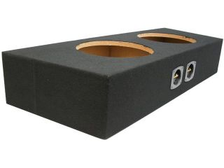 "CUSTOM FORD MUSTANG 94 12 CONVERTIBLE DUAL 12"" SUBWOOFER ENCLOSURE BASS SUB BOX"