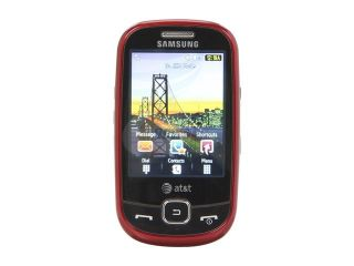 "Samsung Flight Black/Red 3G Unlocked GSM Slider Phone w/ A GPS / 2.8"" Screen / Bluetooth v2.0 with A2DP (SGH A797)"