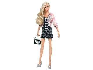 Barbie All Dolled Up Stardoll Blond Hair Mix Match Fashion Clothes Pink Jacket