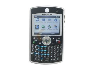 Motorola Silver 3G Unlocked GSM Smart Phone w/ Windows Mobile OS / 2.0 MP Camera / Bluetooth v2.0 / Full QWERTY Keyboard (Q9H)