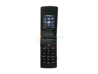 Samsung SGH T339 Black Unlocked GSM Flip Phone with Wi Fi