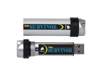 CORSAIR Survivor 8GB USB 2.0 Flash Drive Model CMFUSBSRVR 8GB