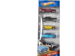 Hot Wheels: 5 Pack Classics Chevy 5 pack Diecast Vehicle Set