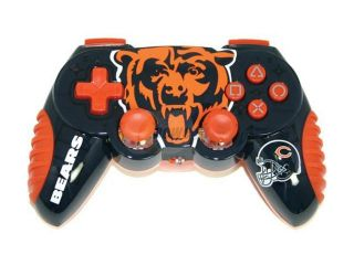 Mad Catz Officially Licensed Chicago Bears NFL Wireless PS2 Controller
