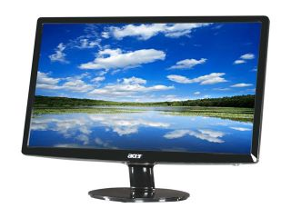 "Acer S201HL bd (L ET.DS1HP.001) Black 20"" 5ms Widescreen LED Backlight LCD Monitor 250 cd/m2 ACM 12,000,000:1 (1000:1)"