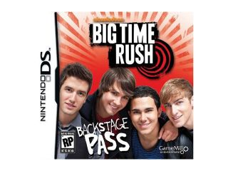 Big Time Rush Nintendo DS Game Game Mill