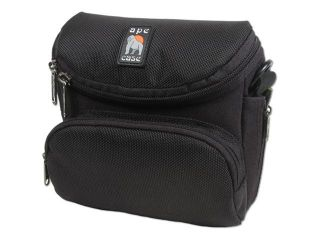 ape case 200 Series AC240 Black Digital Camera and Small Camcorder Case