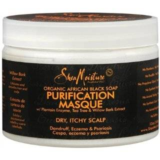 Shea Moisture Organic African Black Soap Purification Hair Masque
