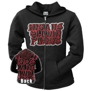 Insane Clown Posse Mens Hoodie Sweatshirt   ICP Wraith Crest Insane