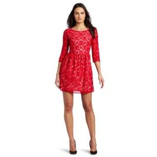 C. Luce Womens Lace Dress Clothing
